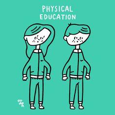 PHYSICAL EDUCATION(からだをうごかしやすいふくそう)