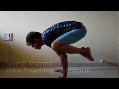 Hand Balance - Balancing body on arms - Crane Pose - Bakasana Crane Pose, Yoga Trainer, Personal Fitness, Stretching, Trainers, Core, Strength, Arms, Fat