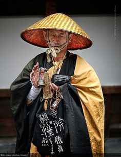 Japanese Monk by Christopher Chan on Flickr.
