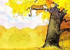 :D Calvin And Hobbes Comics, Calvin And Hobbes Wallpaper, Calvin And Hobbes Quotes, Tree Wallpaper Computer, Of Wallpaper, Winter Wallpaper, Baymax, Hobbes And Bacon, Memes