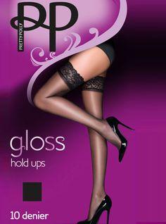 Pretty Polly Italia 10D Gloss Hold Ups