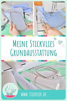 Meine Stickvlies Grundausstattung,Modify clothing with embroidery - how it performs Your personal style and self-fulfillment through style have never performed a better position than t. Diy Embroidery Projects, Hand Embroidery Patterns Free, Towel Embroidery, Embroidery Stitches Tutorial, Embroidery Flowers Pattern, Embroidery Sampler, Simple Embroidery, Learn Embroidery, Embroidery For Beginners