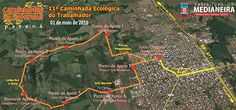 """Circuito """"Caminhada Ecológica do Trabalhador"""" - dia 1º de maio. Inscrições: http://www.medianeira.pr.gov.br/?caminhada"""