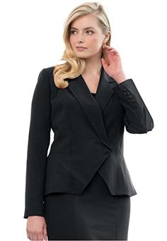 Jessica London Women's Plus Size Peplum Blazer Black,18 Jessica London http://www.amazon.com/dp/B0104HPT0E/ref=cm_sw_r_pi_dp_3Vxbwb1YTVAYC