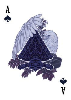 The Count of Montecristo Playing Cards - Ace of Spades - playing cards art, game, playing cards collection, playing cards project, cards collectors, design, illustration, card game, game, cards, cardist, cardistry, card back