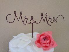 Custom Cake Topper  Wedding Cake Topper Mr & by BridalCuteHangers
