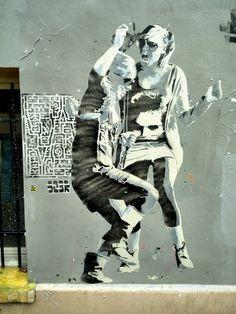Sobre - street art - rue lesage, paris 20