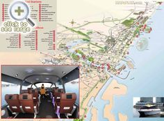 Water taxi stops Explore great destinations points interest One day trip route itinerary Dubai top tourist attractions map