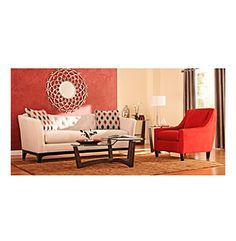 Product: HM Richards Profile Tufted Back Microfiber Sofa & Chair Living Room Collection