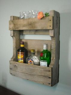 Small Pallet Wine Rack by Thewineshop