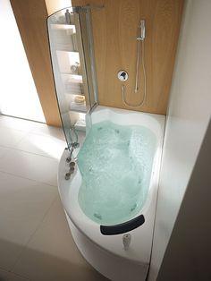 glass vasca lis 150 x 100 vasca combi. Black Bedroom Furniture Sets. Home Design Ideas
