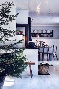 A dreamy Scandinavian Christmas home