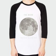 Baseball T-Shirts - The Moon