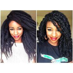 Crochet Braids on Pinterest Marley Hair, Crochet Braids Hairstyles ...