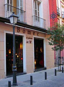 Bomec.   El Paladar del Te.  Tea salon. Madrid.  SPAIN