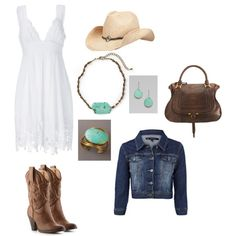 Country Style engagement picture clothes that would look beautiful on Kaydee.