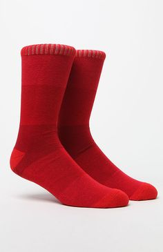 Tonal Stripes Crew Socks