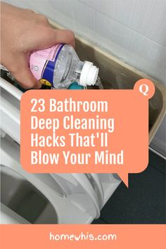 Discover the 23 cleaning hacks that are safe, effective and could potentially save you hundreds of dollars every year all within this article. Learn how to remove permanent stains, tough dirt, pet stains, grime and more with safe and natural cleaning ingredients like baking soda, vinegar, hydrogen peroxide and more! The blog post covers bathroom cleaning hacks, house cleaning tips and kitchen cleaning hacks. #homewhis #cleaning #clean #cleaninghacks #bakingsoda #vinegar Bathroom Cleaning Hacks, House Cleaning Tips, Deep Cleaning, Fridge Organization, Organization Hacks, Dawn Dish Soap, Hard Water Stains, Glass Shower, Natural Cleaning Products