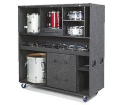 Music Instruments Storage Ideas New Ideas Home Studio Setup, Home Studio Music, Studio Ideas, School Wall Decoration, Drums Studio, Band Rooms, Drum Cases, Drum Room, Snare Drum