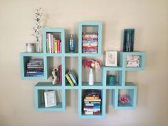 Hardwood Bookshelf  Modern Design  FREE SHIPPING by Whitman221, $1600.00