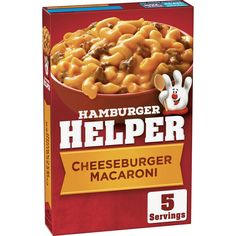 Frozen Appetizers, Hamburger Helper Recipes, Pasta Types, Macaroni Recipes, Cheesy Sauce, I Love Food, Snack Recipes, Food And Drink, Favorite Recipes