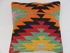 Modern Bohemian Home Decor  Embroidered Handwoven by misterpillow