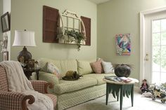 One of our sitting rooms - Experience the Butterfly Effect - www.butterflycreekinntryon.com
