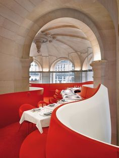 L'Opéra Restaurant in Paris #interior #restaurant