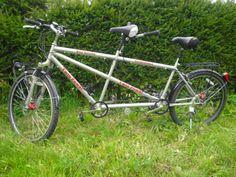 Tandem mountain bike MTB Trekking Disc Brake Fork