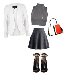 """""""Untitled #1"""" by diana-oni on Polyvore featuring River Island, Chicwish, Givenchy, Prada, WearAll and Chloé"""