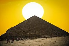 stock photo of great pyramids - Image of the great pyramids of Giza in Egypt - JPG