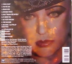 One of the images I created used on Boy George's album 'Ordinary Alien'