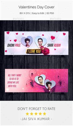 #Valentines Day Facebook Cover - #Facebook Timeline Covers #Social Media