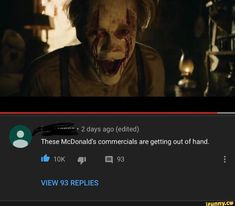 2 days ago (edited) These McDonald's commercials are getting out of hand. lb ql a 93 - iFunny :) Stupid Funny Memes, Funny Relatable Memes, Haha Funny, Funny Shit, Funny Facts, Hilarious, Saints Memes, It The Clown Movie, Im A Loser
