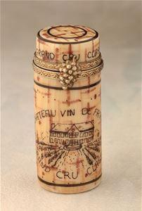 Limoges Wine Cork Box The Cottage Shop
