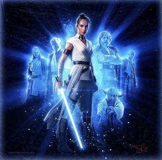 Rey with the Jedi Star Wars Jedi, Finn Star Wars, Rey Star Wars, Star Wars Art, Star Trek, Images Star Wars, Star Wars Pictures, Star Citizen, Star Wars Brasil