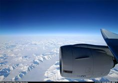 Plane views from my window seat - North Pole flight Airplane Window, Airplane View, Welcome Aboard, Aircraft Engine, Continental, Airplane Travel, Boeing 777, Aircraft Pictures, Fighter Jets