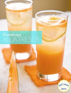 After a nice, summer, bike ride come back home and cool off with this delicious Cantaloupe Agua Fresca. Crisp, and refreshing this light drink is made with SPLENDA® Sweetener so you can enjoy great flavors without all the calories from added sugar.