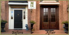 Beautiful replacement in Charlotte, NC.  Clark Hall Iron Doors