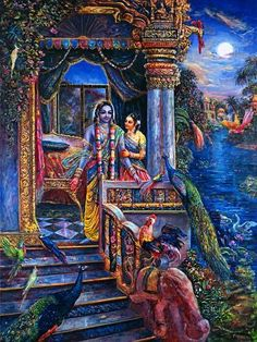 [K02] Rukmini and Krishna awaken to the sound of birds