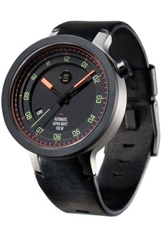 Minus-8 Layer Leather Automatic Black/Bright