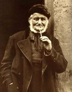 Retired from the sea - Isaac Verrill of Staiths, North Yorkshire, England - Late 1800s