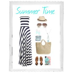 """""""Summer Time"""" by sonjeka on Polyvore"""