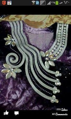 ///gnadar Churidar Neck Designs, Kurta Neck Design, Embroidery Fashion, Embroidery Dress, African Attire, African Fashion Dresses, Fashion Connection, Africa Dress, Blouse Neck Designs