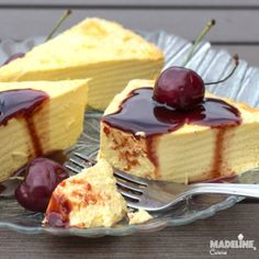 No Egg Desserts, Easy Desserts, Homemade Sweets, Homemade Cakes, Sweet Recipes, Cake Recipes, Dessert Recipes, Peach Yogurt Cake, Creme Mascarpone