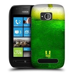e_cell - Head Case Green Apple Soda Thirst Quenchers Protective Case for Lumia 710