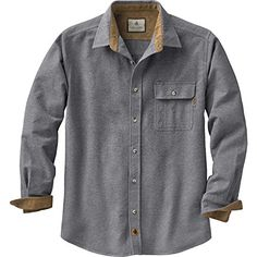 Men's Plaid Buck Camp Flannels at Legendary Whitetails Casual Shirts For Men, Casual Button Down Shirts, Button Up Shirts, Men Casual, Men's Shirts, Dress Shirts, Casual Clothes, Work Clothes, Moda Masculina