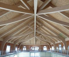 Beautiful (and Unique) Glulam   Wood Times Blog