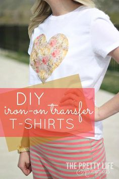 DIY Tutorial: DIY Printed Pattern / DIY Iron-On Transfer Shirts - Bead&Cord
