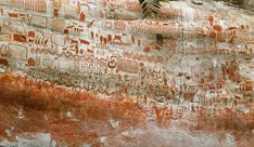 """Break'n News - """"Sistine Chapel Of The Ancients"""" Is Discovered In A Remote Amazon Rainforest Ground Sloth, Archaeological Discoveries, Sistine Chapel, Amazon Rainforest, Ancient Art, Prehistoric, Rock Art, Mind Blown, Archaeology"""